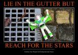 Starry gutter