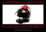 Governed by ravens