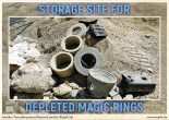 Depleted magic rings