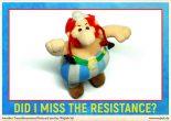 Missing resistance